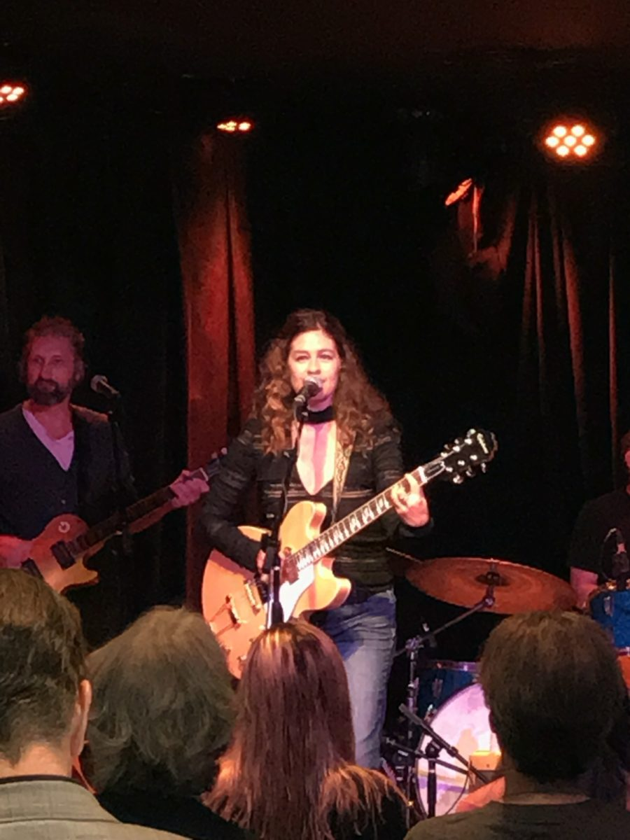 Louise Goffin performing Gary Calamar Mimosa Music Series at The Federal Bar 9/17/17
