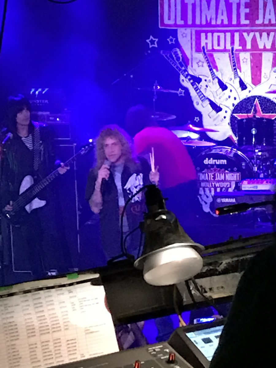 Steven Adler Guns N' Roses Night 10/3/17 Ultimate Jam at The Whisky A Go Go
