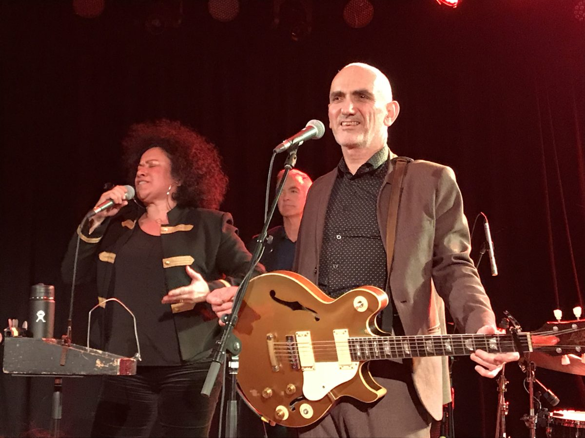 Paul Kelly and Zika Bull performing at The Roxy 10/22/17